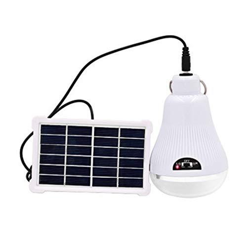 éclairage et système camping extérieur lampe led usb 3x ampoules de torche 3-7W panneau solaire