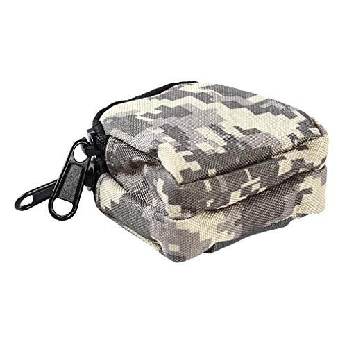 Kshcf Multifunctional Bag Outdoor Tactical Double Layer Coin Purse Camping Belt Pouch,ACU Color
