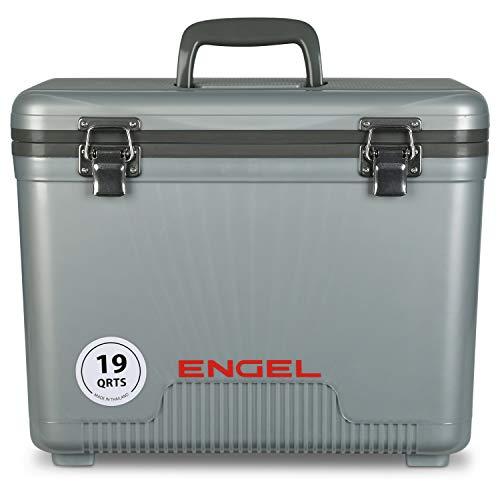 ENGEL Cooler/Dry Box 19 Qt - Silver (UC19S)