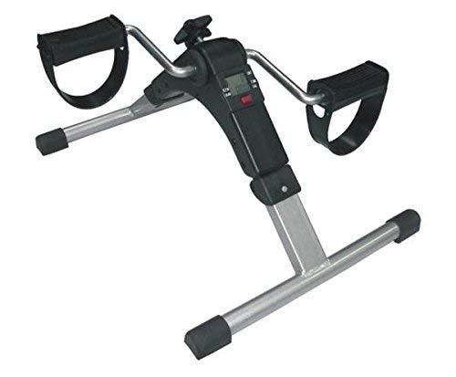 Pedalier ejercitador bicicleta electrónico de brazos y piernas. Plegable