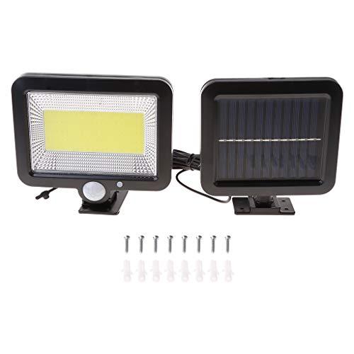 ybvyd Solar Light for Garden Outdoor,Porch Lamp Motion Sensor Recharge Wall Waterproof