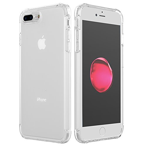 Krichit Phone Protective Case, Clear Series Case for iPhone 7 Plus/iPhone 8 Plus