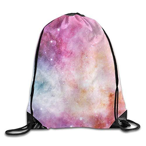 uykjuykj Bolsos De Gimnasio,Mochilas,Classic Pink Whale Drawstring Bags Shoulder Rucksack for Girls Boys Gym Sack Pattern 6 Lightweight Unique 17x14 IN