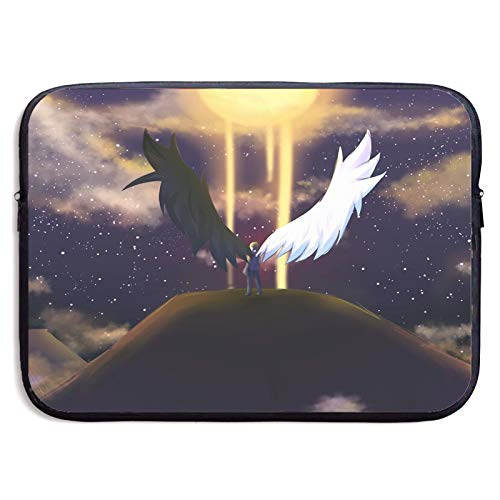Demon Or Angel Laptop Sleeve Case Compatible for 13 15 Inch MacBook Notebook Computer Tablet Protective Bag