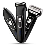 Pick Ur Needs® Professional Shaver and 3 in 1 Beard, Nose and Ear Waterproof Trimmer for Men (3 In 1 (2000mAh))