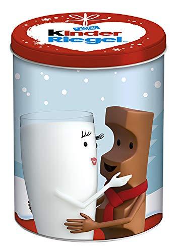 Kinder Riegel 24er Weihnachtsdose, 1er Pack (1 x Dose mit 504g)