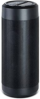 Alexa Powered Buddy Wireless Bluetooth/Wi-Fi Speaker with Amazon's Alexa,Voice Activation/Recognition,Cloud Connection,Stream Music,3.5mm Aux Jack iPhone, Android,and More,Black