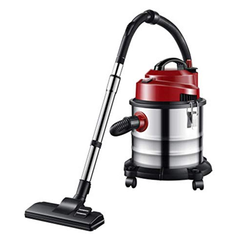 Buy Discount SISHUINIANHUA Barrel Vacuum Cleaner Household Commercial high-Power Dry and Wet Blowing...