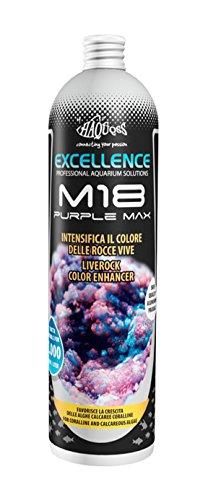 Haquoss M18 Purple Max Soluzione Che Intensifica Il Colore delle Rocce Vive, 250ml