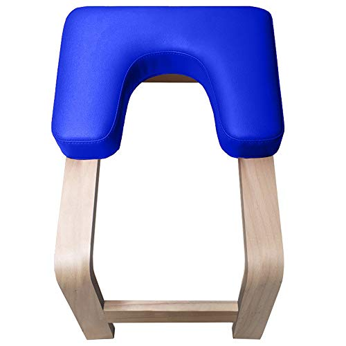 Why Choose Dygzh Yoga Stool Beech Yoga Inversion Stool Inverted Aid Bench Chair Practice Exercise Eq...