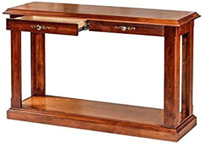 Wondrous Amazon Com Leick Furniture Mission Sofa Table Medium Oak Onthecornerstone Fun Painted Chair Ideas Images Onthecornerstoneorg