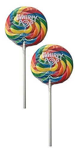 Whirly Pop Lollipop Rainbow Swirl 1.5oz New York Mall 3 Diameter inch Lollip Houston Mall