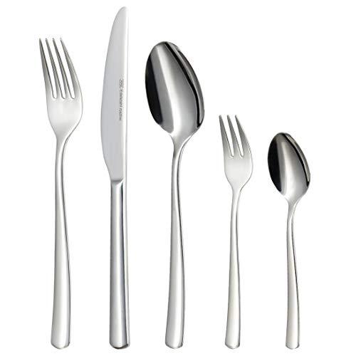 KHG Besteckset 60-teilig Silber Edelstahl Küchenmesser Essbesteck, Unsere Modelle:760