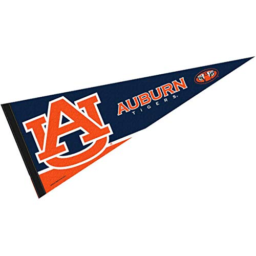College Flags & Banners Co. Auburn Tigers Pennant Full Size Felt