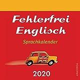 Fehlerfrei Englisch Sprachkalender 2020