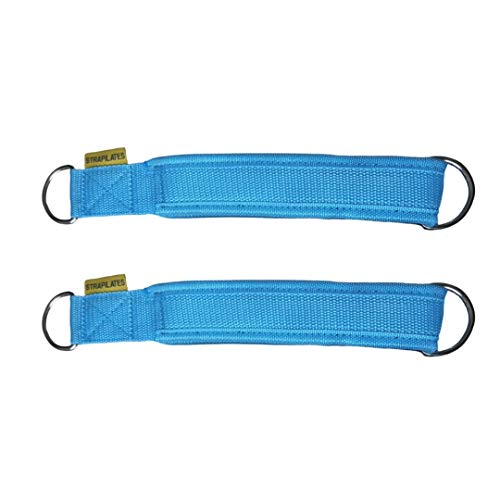 Strapilates Sky Blue Reformer Straps. The Fashionable and hygienic Solution for Your Pilates Needs