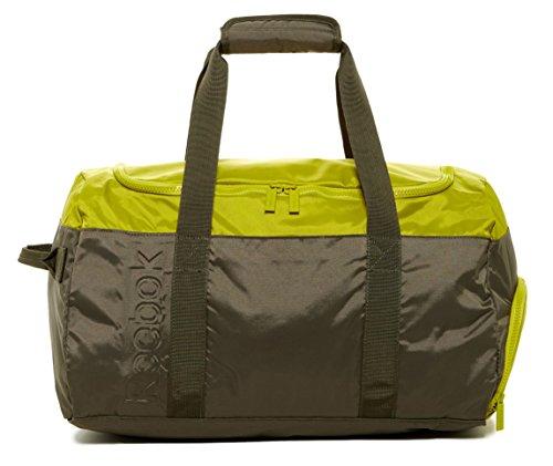 Reebok LE Small Grip Duffle Sports Fitness Bag in Modoli Greenish Brown