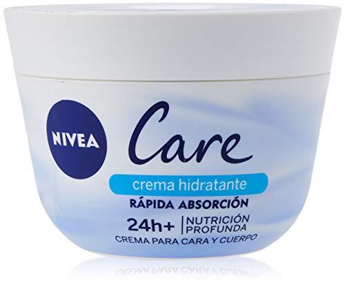 NIVEA Care Crema Hidratante para Cara y Cuerpo - 400 ml