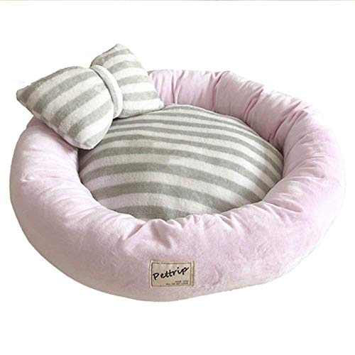 WMMCM Hundebett Katze-Bett-Haustier-Bett-Super Soft Pet Schlafsofa weiche Wolle Fleece PP Cotton Made In einem Haustier-Bett geeignet for Small Medium Hunde oder Katzen Multiple Größe Optionen
