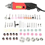 Kit de herramientas rotativas 240W Mini amoladora eléctrica Taladro de velocidad variable Kit de herramientas rotativas 110-230V CA(EU Plug)