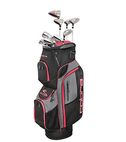 COBRA XL Speed Komplettset 15-Teilig 2019 Damen - LINKSHAND (Graphitschaft) | Hand: Linkshand, Golftasche: Cartbag, Geeignet für: Einsteiger - Fortgeschrittene