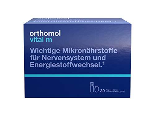Orthomol Vital M Trinkflaschen plus Kapseln, 30er Packung