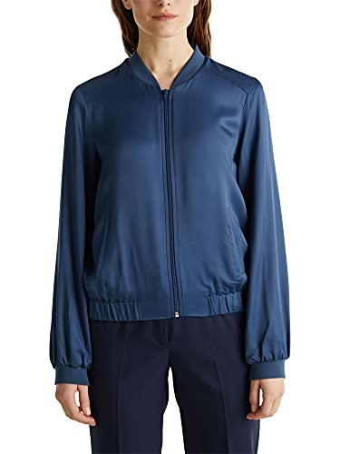 ESPRIT Collection 030EO1G311 Giacca, 451/blu Petrolio 2, S Donna