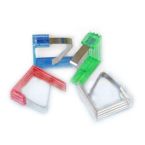 takestop FERMATOVAGLIA Fermo TAVOLA Set 6 Pezzi PLASTICA Metallo FAG_30791 Clip Molla Gancio Colore Casuale