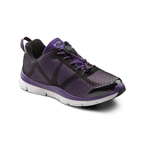 Dr. Comfort Katy Therapeutischer Sportschuh für Damen, extra tief, Violett (violett), 40 EU