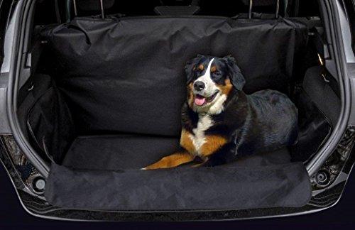 JOM Car Parts & Car Hifi GmbH 20697 Kofferraumschutz Hunde wasserabweisend rutschfest Kofferraumdecke mit Seitenschutz Kofferraumschutz Decke inkl Ladekantenschutz