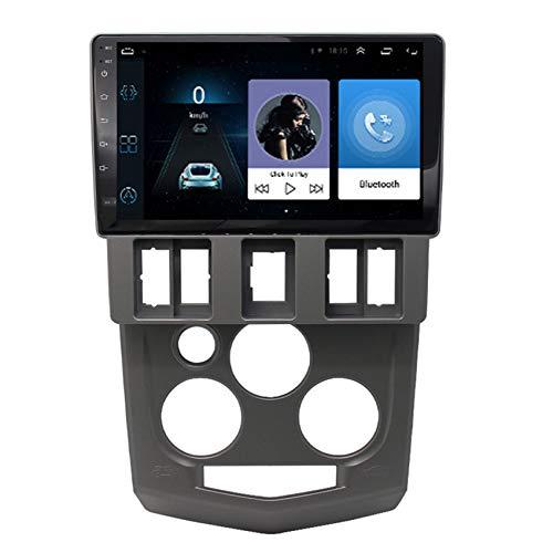 Amimilili Multimedia del Coche Reproductor de MP5 Bluetooth para Coche con Android 9 para Renault Logan 2004-2008 Soporte WiFi Cámara Trasera FM Mandos del Volante,4 Cores 4g+WiFi:2+32g