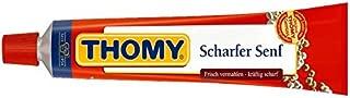2x THOMY Scharfer Senf mustard 100ml Tube (German Import) by Thomy
