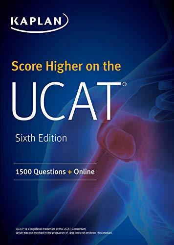Score Higher on the UCAT: 1500 Questions + Online (Kaplan Test Prep)