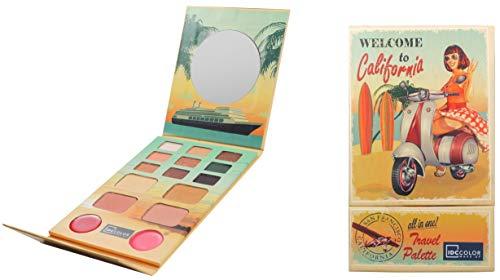 IDC Couleur, Palette de maquillage – 6 de 1 unité – Total : 6 unités