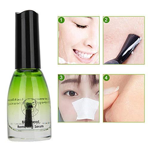 Sérum anti-acné, outil de nettoyage liquide éliminant le sérum outil de nettoyage des pores profonds soins de la peau du visage 11g