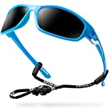 Bircen Sport Sunglasses for Men Women Youth Polarized UV Protection Scratch Resistant, Tennis Bike Running Sunglasses