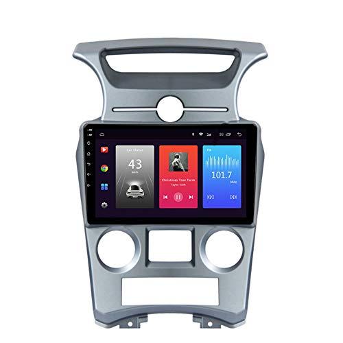 WHL.HH Marcha atrás Imagen 4G WiFi Bluetooth para Carens 2007-2011 Estéreo Radio Androide Sistema Coche GPS Navegación 10 Pulgadas Pantalla táctil Cabeza Unidad Multimedia Jugador,S2