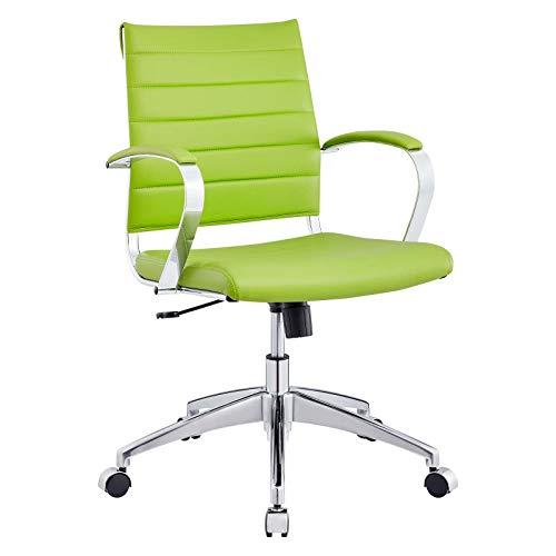 Modway Silla de Oficina, Aluminio, Verde, Special_Size