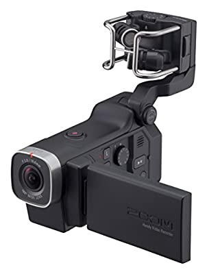 Zoom Q8 Handy Video Recorder, 3M High Definition Video, Stereo Microphones Plus Two XLR/TRS Combo Inputs, Four Tracks of Audio Recording, for Recording, Music, Video, Youtube Videos, Livestreaming from Zoom