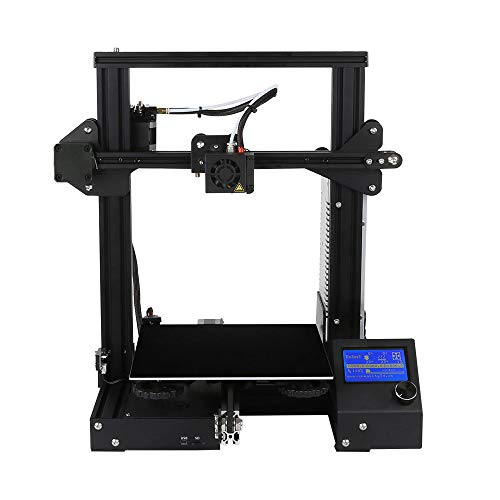 GUCOCO 3D A13 3D Printer Upgrade Desktop DIY 3D Printers and Resume Printing and UL Certified Power Supply 220x220x250mm (A13)