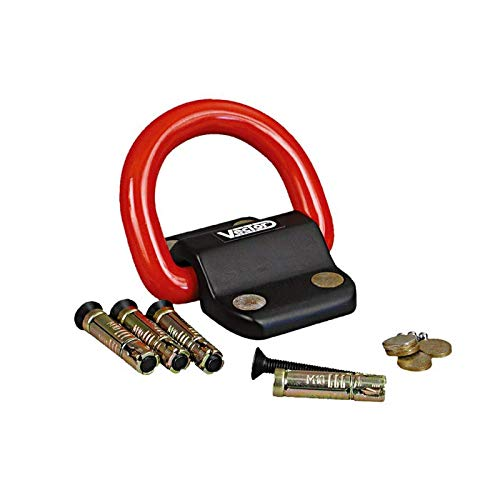 Vector Kit ancre platine fixation sol/mur cadenas Compac Block 95x78mm Ø22mm