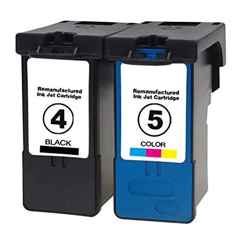 Cartuchos de tinta de repuesto para impresoras Lexmark X2690, X3690, X4690, X5690, X5690, compatibles con combinación de color y negro