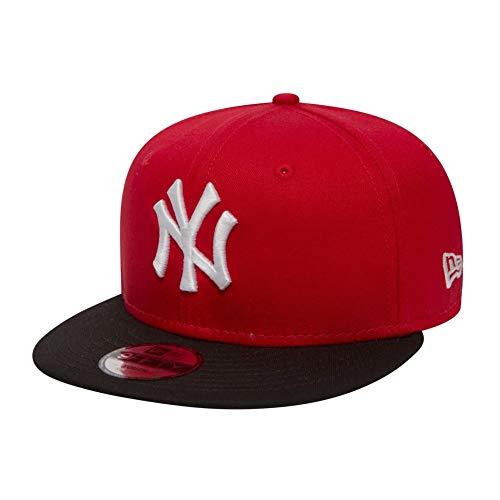 New Era Kids Snapback - NY Yankees - Red-Black, Size:ONE Size