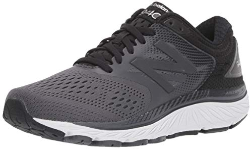 New Balance Women's 940 V4 Running Shoe, Black/Magnet, 7.5 XW US