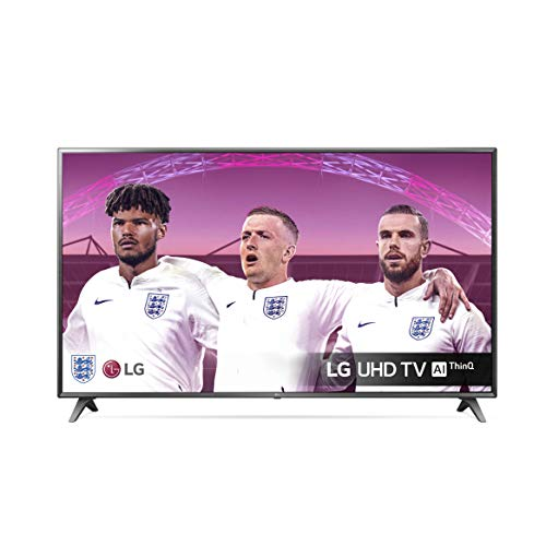 LG 75UM7050PLA 75 inch UHD 4K HDR Smart LED TV with Freeview Play - Meteor Titan Colour (2020 Model) [Energy Class A]