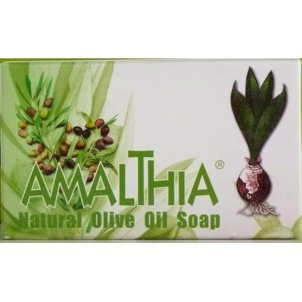 Greek Natural Olive Οil Soap Amaltheia 125gr /Φυσικό Ελαιοσάπουνο Αμάλθεια x 125gr