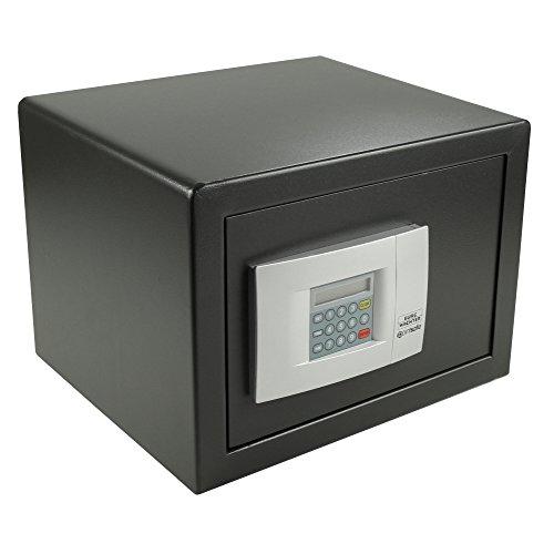 BURG-WÄCHTER Möbeltresor mit elektronischem Zahlenschloss, Point-Safe, 20,5 l, 14,5 kg, P 2 E, Schwarz
