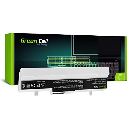 Green Cell Batería para ASUS EEE PC 1001 1001HA 1001HAG 1001HT 1001P 1001P-MU17-BK 1001PG 1001PQ 1001PQD 1001PX 1001PX-BLK003 1001PX-BLK003X 1001PX-BLK3X Portátil (4400mAh 10.8V Blanco)
