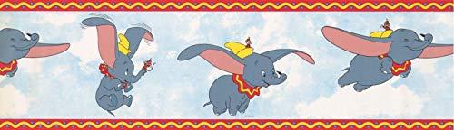 Dumbo The Elephant 41262410 Tapetenbordüre, 17,8 x 4,5 m