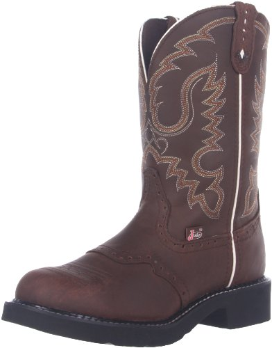 "Justin Boots Women's Gypsy Collection 11"" Soft Toe Boot,Dark Aged Bark,8.5 B US"